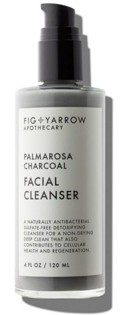 Fig+Yarrow Palmarosa Charcoal Cleanser