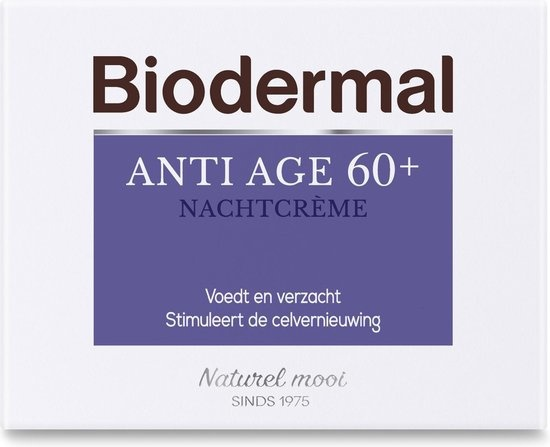 Biodermal Anti Age 60+ Night Cream