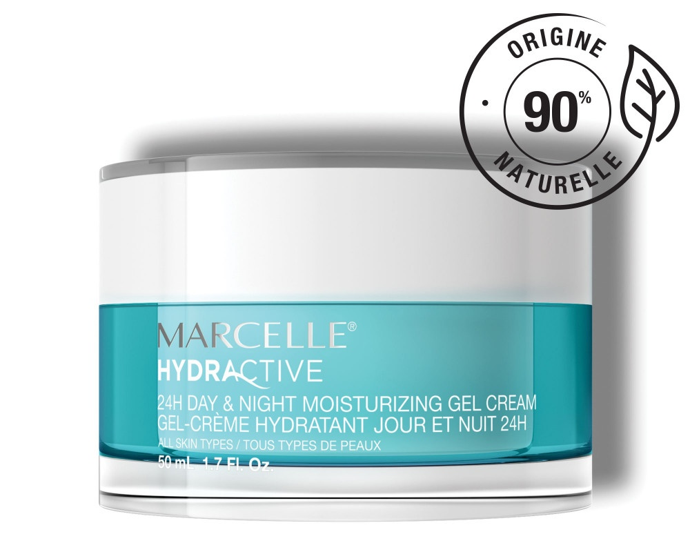 Marcelle Hydractive 24H Day & Night Moisturizing Gel Cream - All Skin Types