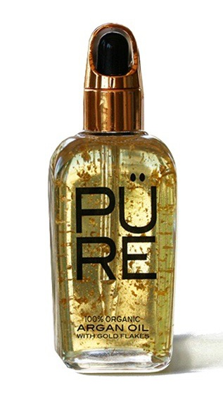 The PÜRE Collection Argan Oil With Gold Flakes