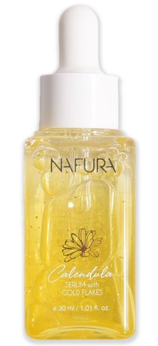 Nafura Calendula Serum With 24k Gold Flakes