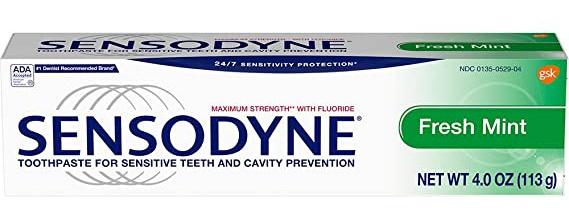 Sensodyne Fresh Mint Toothpaste