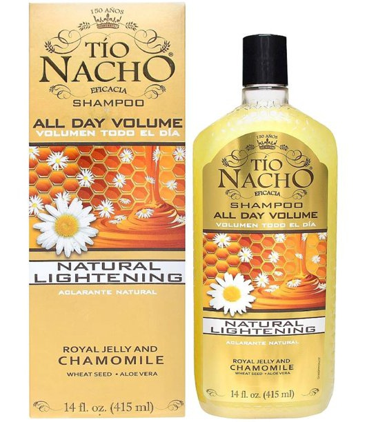 tio nacho Natural Lightening & Volumizing Shampoo