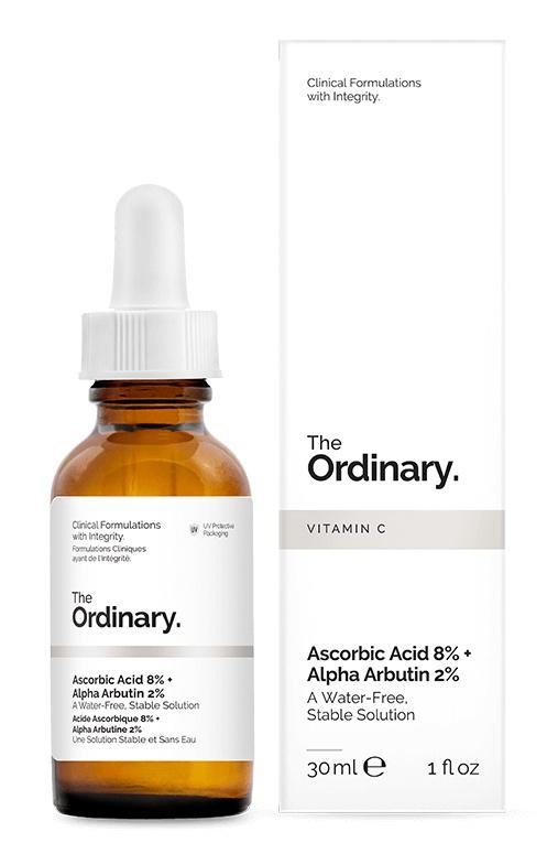2.0% | Ascorbic Acid 8% + Alpha Arbutin 2%