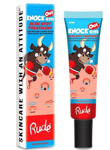 Rude Cosmetics Knock'Em Out Acne Treatment