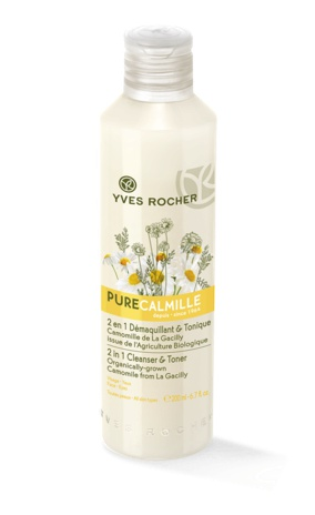 Yves Rocher Pure Calmille 2 In 1 Cleanser And Toner