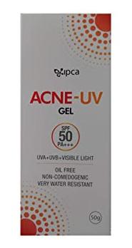 ACNE-UV Ipca Acne Uv Spf 50 Sunscreen Gel Pa+++
