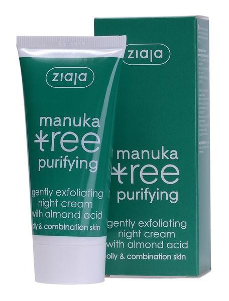 Ziaja  Manuka Tree Purifiying Exfoliating Night Cream