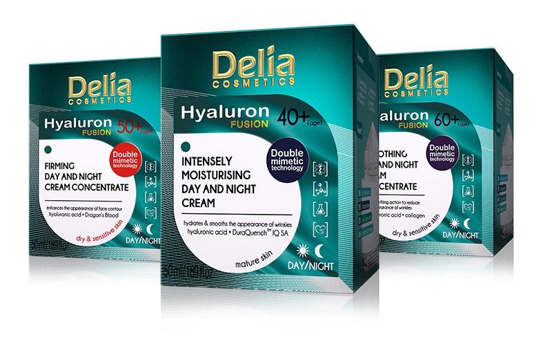 Delia Cosmetics Intenseli Moistuirizing Day And Night Cream