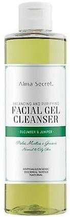 Alma Secret Facial Gel Cleanser Cucumber & Juniper