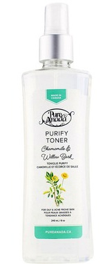 Pure Anada Purify Toner - Chamomile & Willow Bark