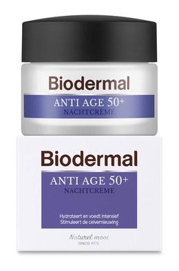 Biodermal Anti age 50+ night cream