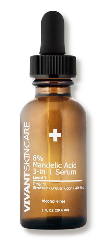 Vivant Skin Care 8 Percent Mandelic Acid 3-In-1 Serum