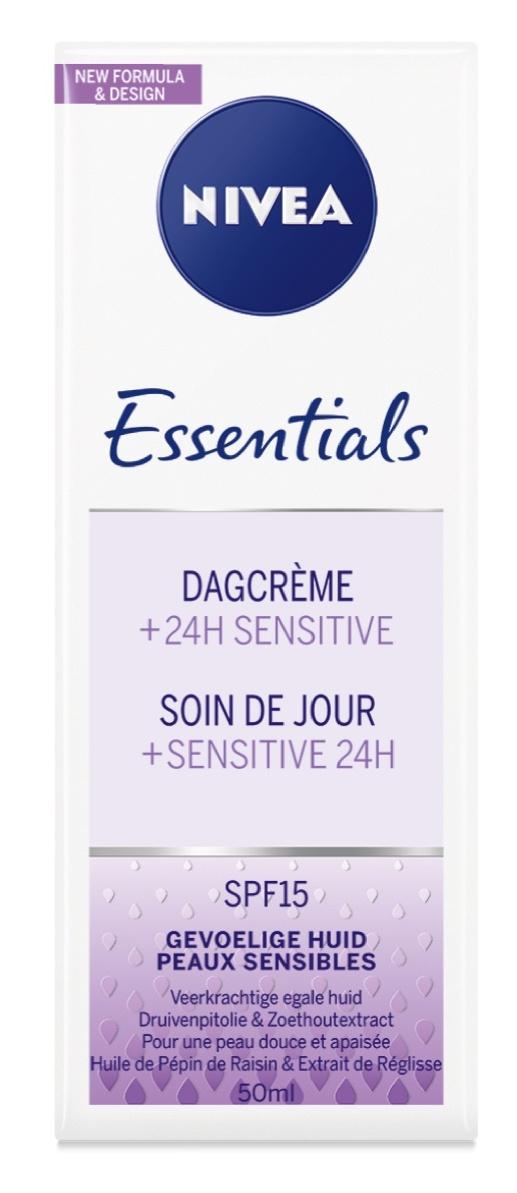 Nivea Essentials Dagcrème Gevoelige Huid