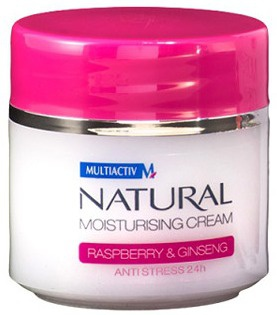 MULTIACTIV NATURAL Moisturising Cream Hidratantna Krema Raspberry+Ginseng