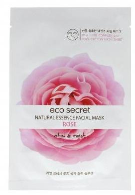 ecosecret Sheet Mask Rose Cheongju