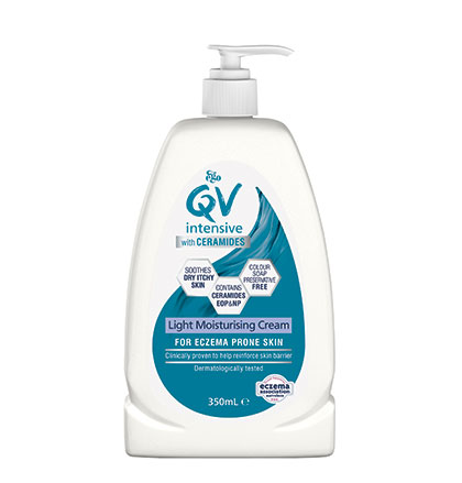 Ego QV Intensive With Ceramides - Light Moisturising Cream