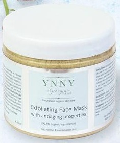 YNNY Exfoliating Face Mask With Anti-Aging Properties