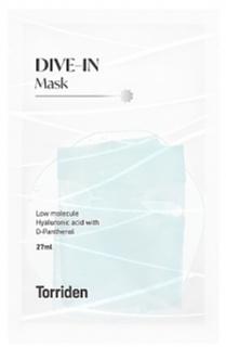 Torriden Dive-In Low Molecule Hyaluronic Acid Mask
