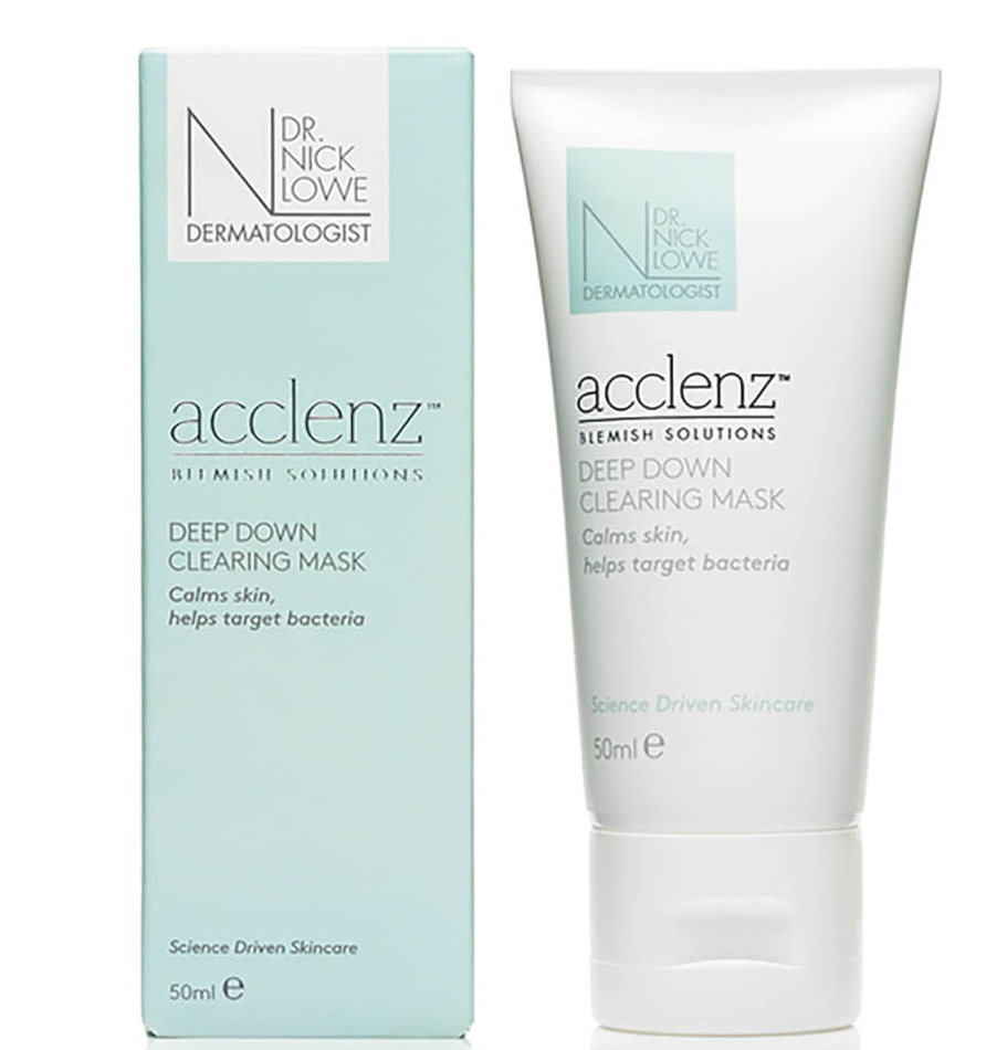 Dr Nick Lowe Acclenz Deep Down Clearing Mask