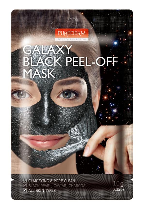 PUREDERM Galaxy Black Peel-Off Mask