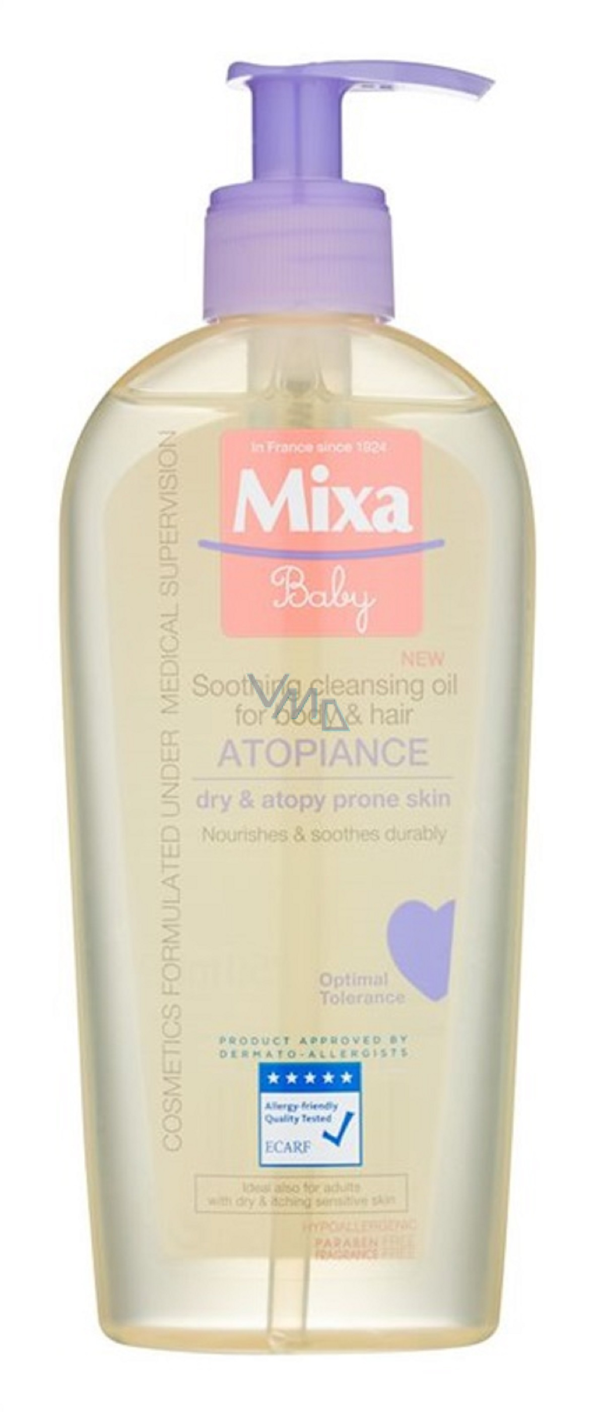 Mixa Atopiance Oil For Body And Hair