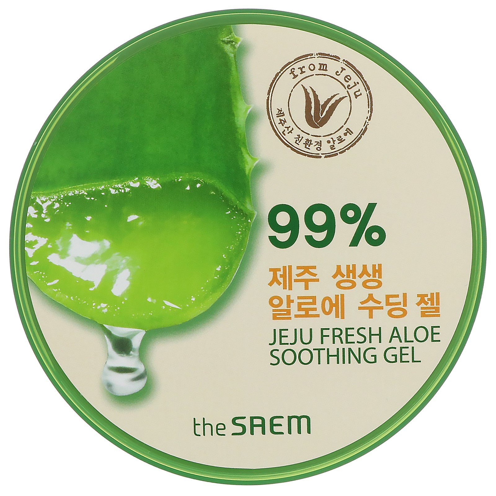 The Saem Jeju Fresh 99% Aloe Soothing Gel