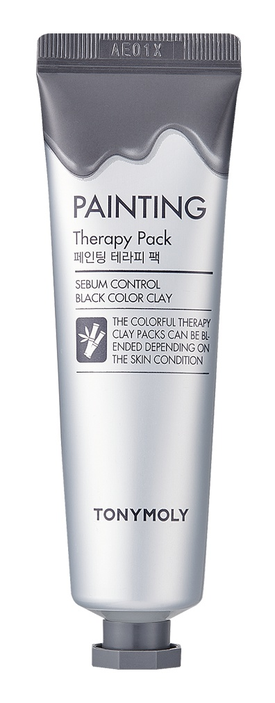 TonyMoly Painting Therapy Pack Sebum Control Black Color Clay