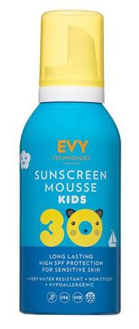 Evy Technology Sunscreen Mousse Kids Spf 30