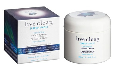 Live Clean Fresh Face Nourishing Night Cream