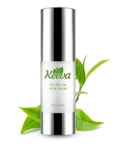 Keeva Organics Tea Tree Oil Acne Serum