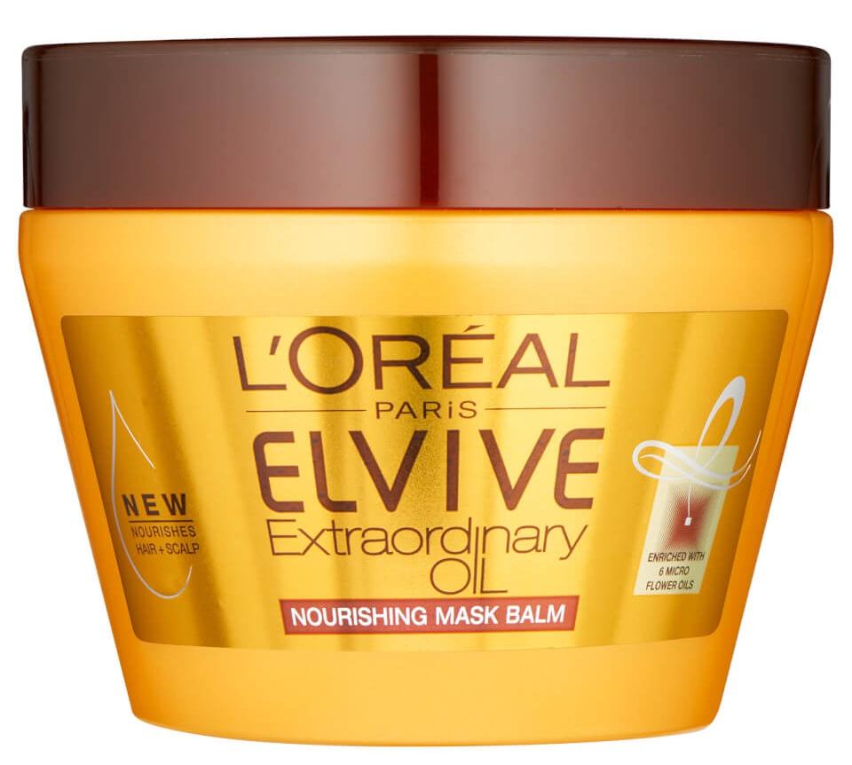 L'Oreal Paris Elvive Extraordinary Oil Hair Mask Pot For Dry Hair