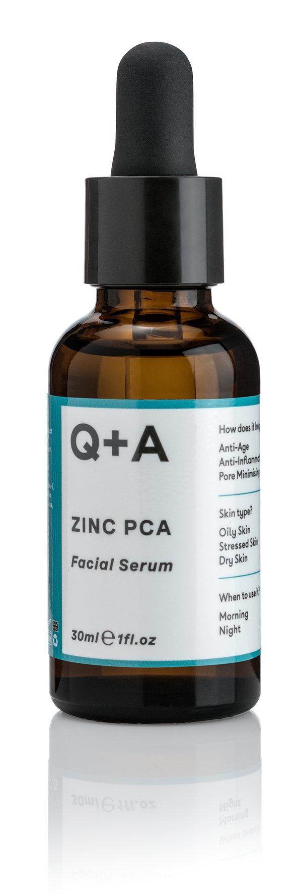 Q+A Zinc Pca Facial Serum