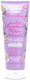 Umberto Giannini Flowerology Violet + Chamomile Flower Vegan Blonde Conditioner