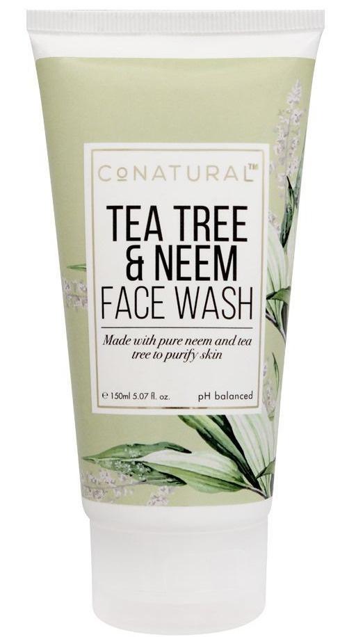 CoNatural Tea Tree & Neem Face Wash