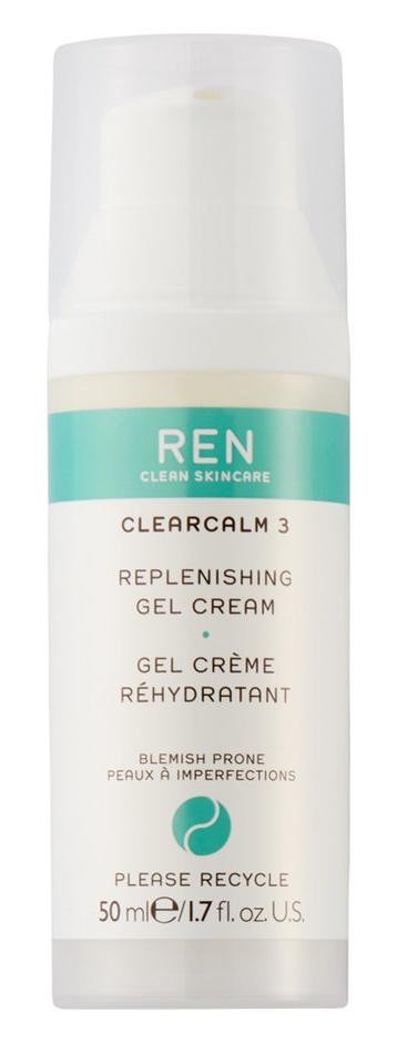 REN Clearcalm 3 - Replenishing Gel Cream