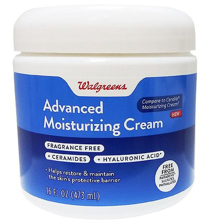 Walgreens Advanced Moisturizing Cream