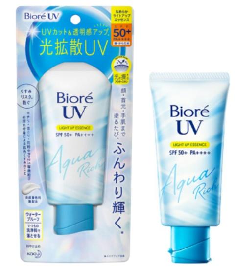 Biore Aqua Rich Light Up Essence SPF 50+ Pa++++
