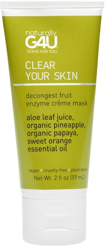 Naturally G4U Clear Your Skin Decongest Fruit Enzyme Crème Mask