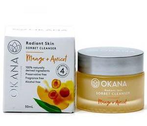 okana Mango + Apricot Sorbet Cleanser
