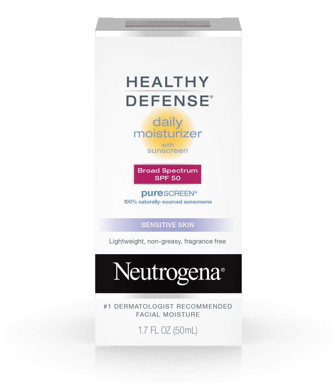 Neutrogena Healthy Defense® Daily Moisturizer With Sunscreen Broad Spectrum Spf 50-Sensitive Skin