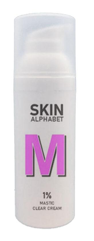SKIN ALPHABET Clear 1% Mastic Facecream