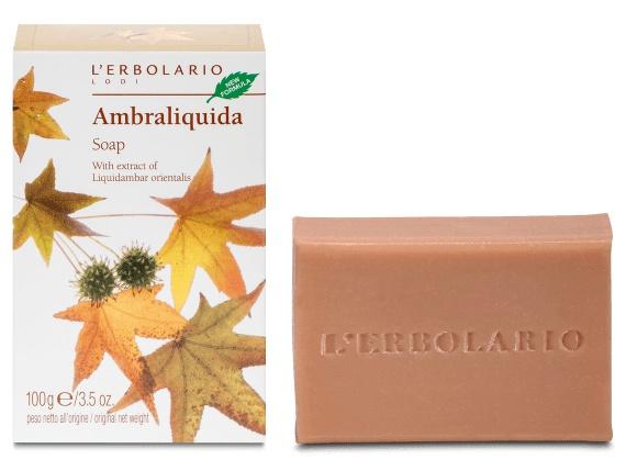 L'Erbolario Soap Ambraliquida