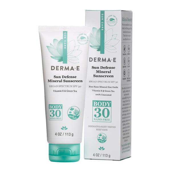 Derma E Natural Mineral Sunscreen Spf 30 Body
