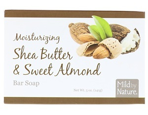 Mild By Nature Moisturizing Bar Soap, Shea Butter & Sweet Almond