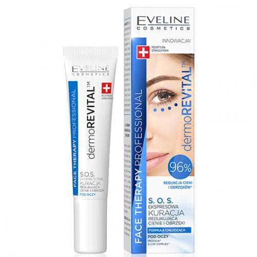 Eveline Cosmetics Dermorevital   Sos Express Treatment Reducing Dark Circles & Puffiness Under Eye