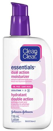 Clean & Clear Dual Action Moisturizer