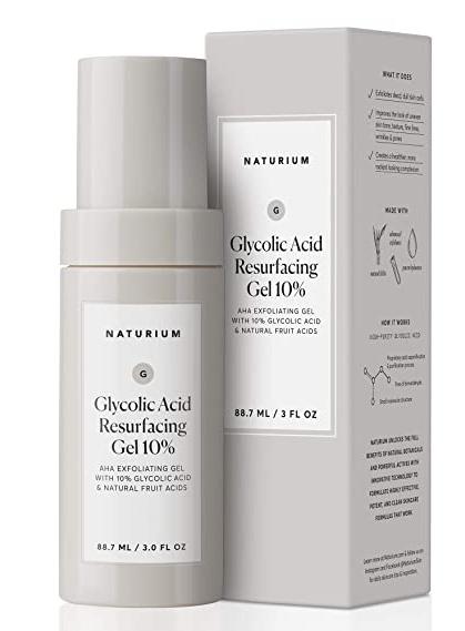naturium Glycolic Acid Resurfacing Gel 10%