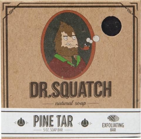 Dr. Squatch Pine Tar Bar Soap