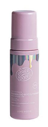 Bielenda Body Boom Face Boom Oczyszczająca Pianka Do Mycia Twarzy Puszysta Kumpelka